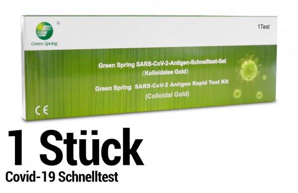 Corona Schnelltest - Selbsttest - SARS-CoV-2 Antigen Rapid Test Kit - 1 Stück