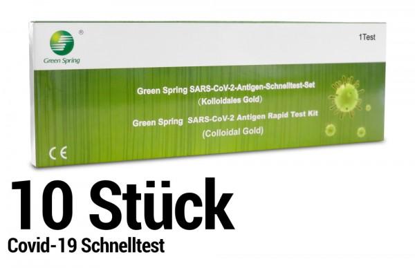 Corona Schnelltest - Selbsttest - SARS-CoV-2 Antigen Rapid Test Kit - 10 Stück