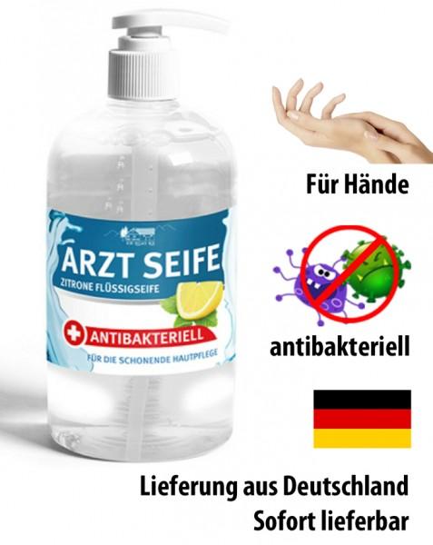 Arzt Seife Zitrone Flüssigseife - Antibakteriell - 300ml