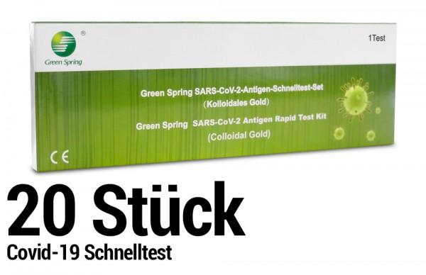 Corona Schnelltest - Selbsttest - SARS-CoV-2 Antigen Rapid Test Kit - 20 Stück